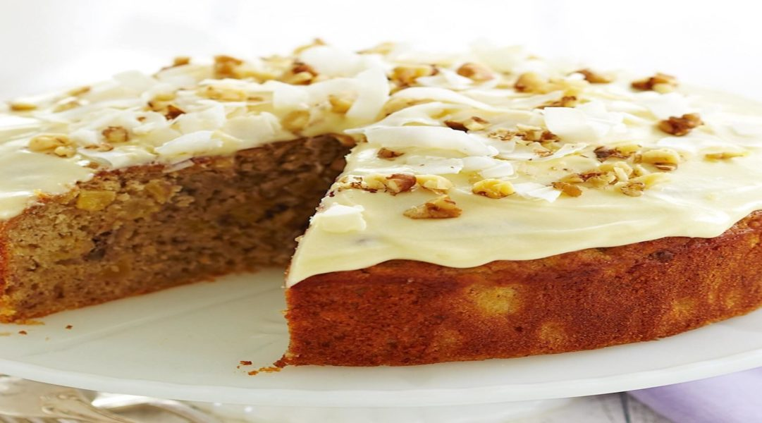Hummingbird Cake (banana/ pineapple cake)